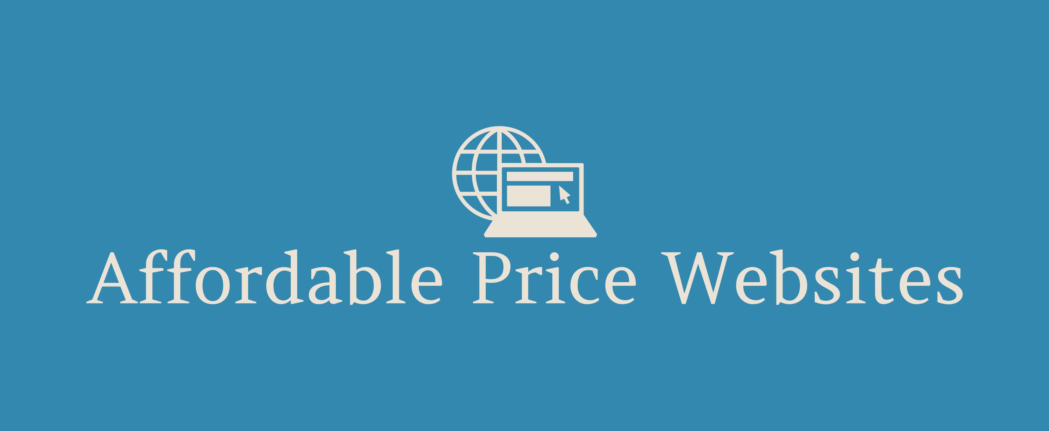Affordable Price Websites